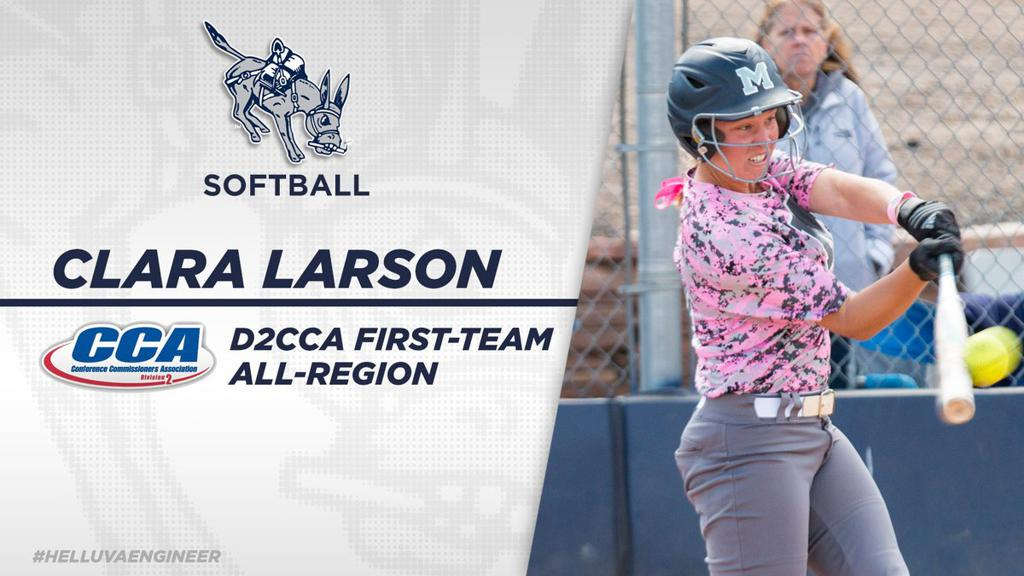 Alumni Clara Larson earns All-Region honors