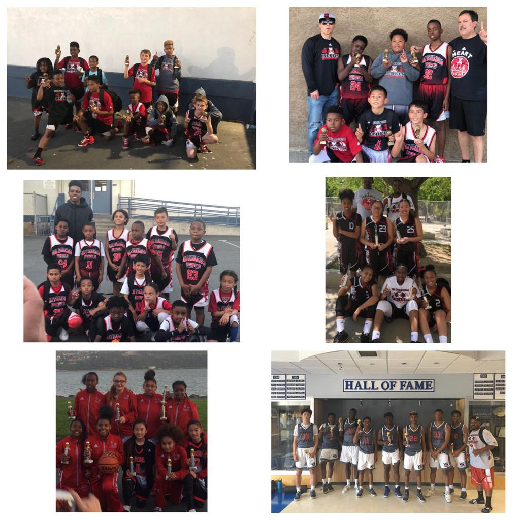 SF Rebels win 7 titles at the Fairfiled Ballers Mother's Day invite