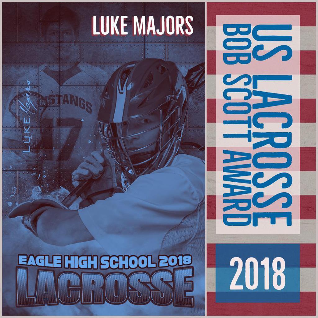 Luke Majors: US Lacrosse Bob Scott Award