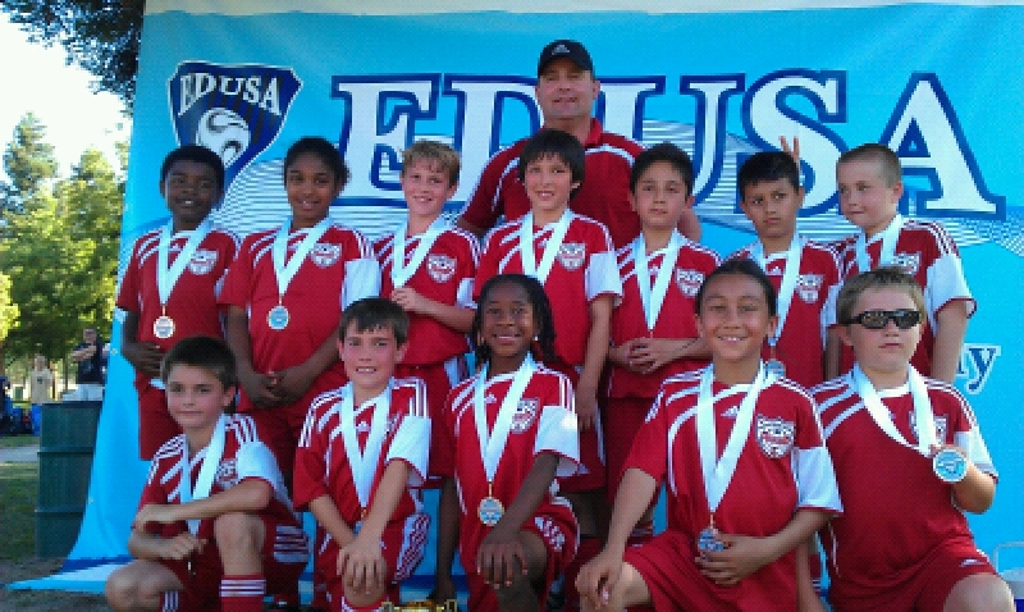 VUSC Galaxy U11 Boys take 3rd place at El Dorado Shootout