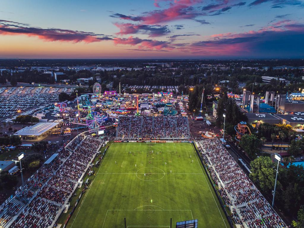 Saturday's match includes free admission to the California State Fair.