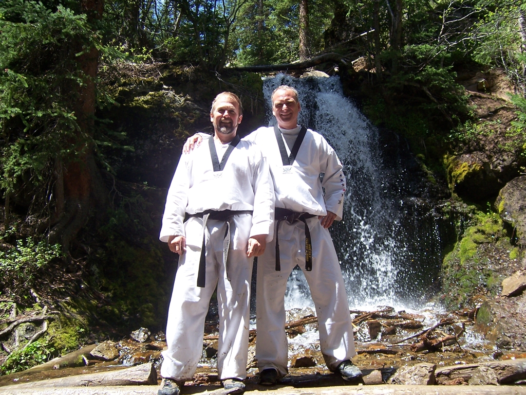 With Master Jones at Camp MSK