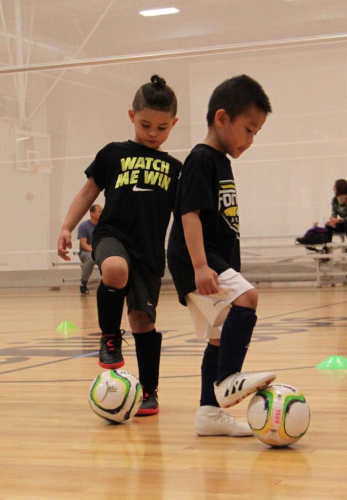 Futsal Wichita Footworx Academy 3 year old soccer