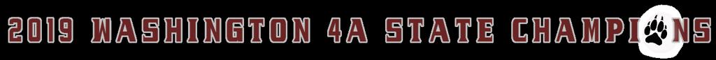 2019 Washington 4A Girls State Champions