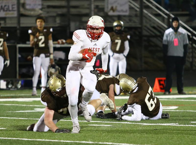 Mankato West has traditionally dominated Winona, and the undefeated Scarlets hope last season's loss was an outlier while the unbeaten WInhawks look to up the ante. Photo by Cheryl Myers, SportsEngine