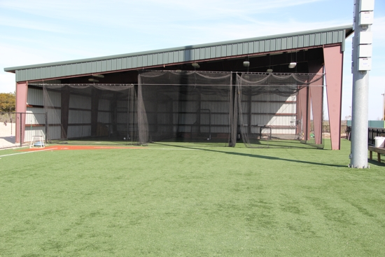 Facilities for Design indoor baseball facility