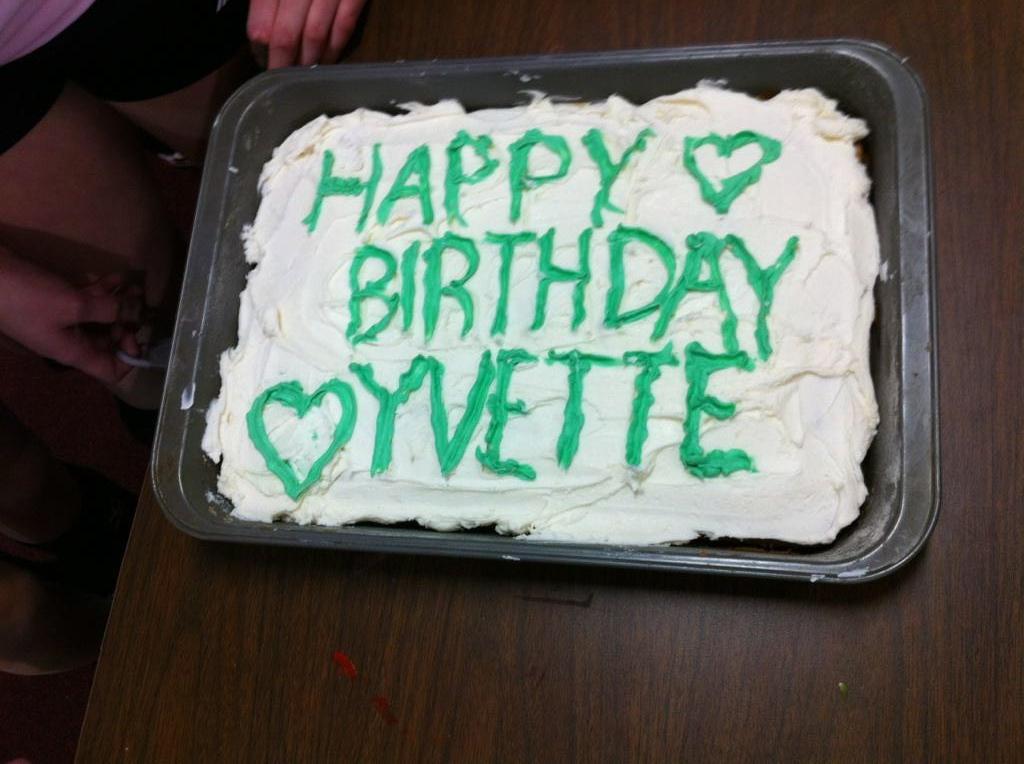 Birthday Cake Yvette