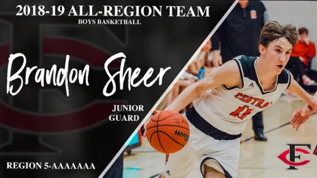 Congrats Brandon Sherer for making the 5-AAAAAAA Region Team