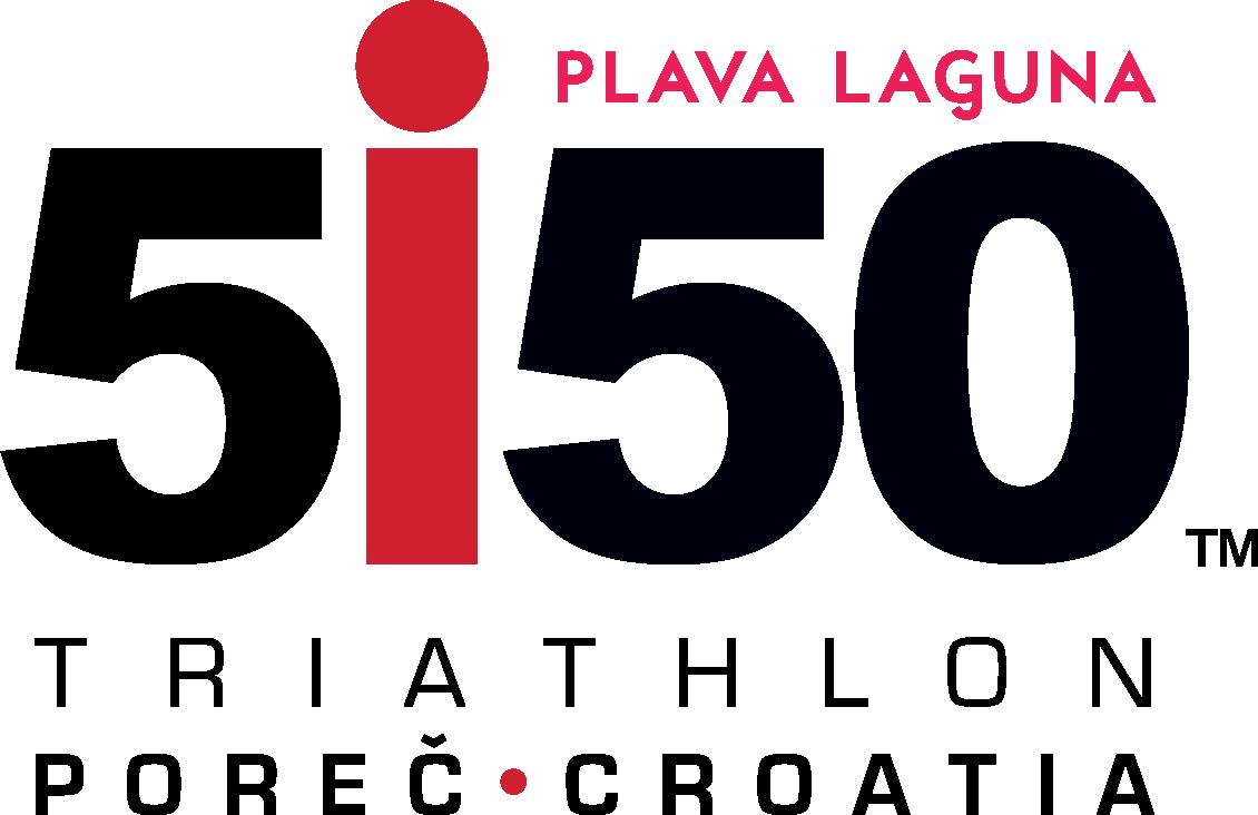 Official Plava Laguna 5150 Poreč Race Logo