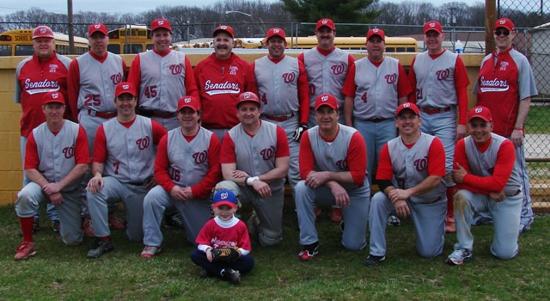 2011 Washington Township Senators 45+