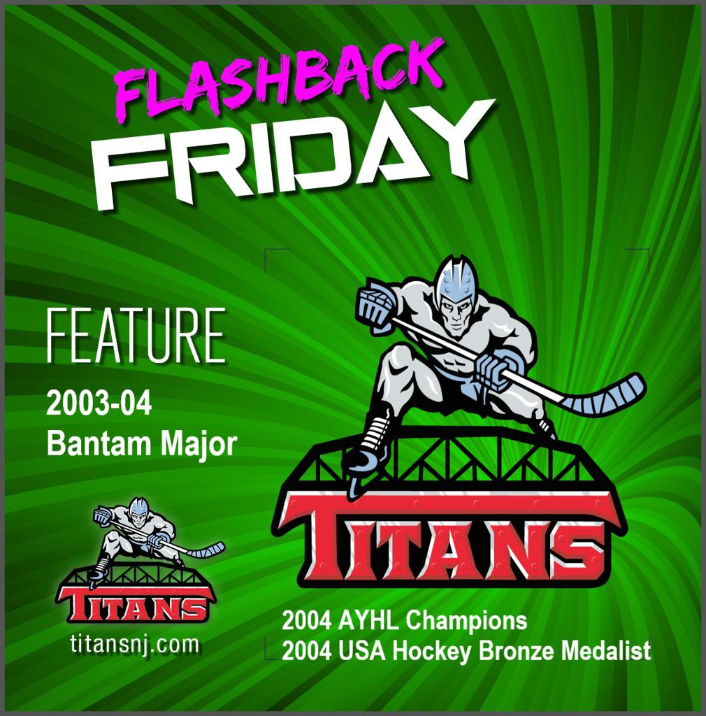 Flashback Friday: Titans 2003-04 Bantam Major – USA Hockey Bronze Medalist