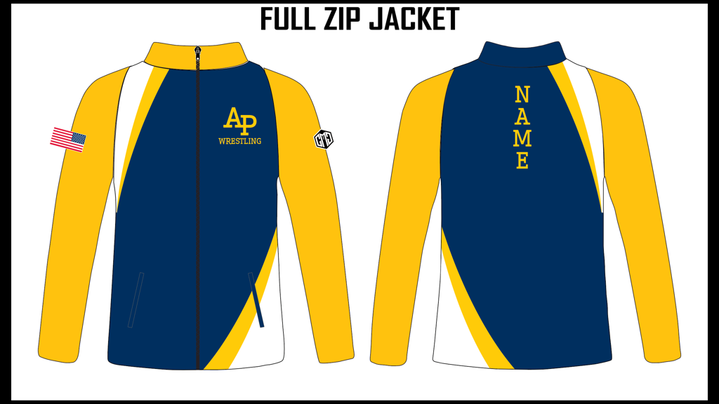AP Wrestling Full Zip