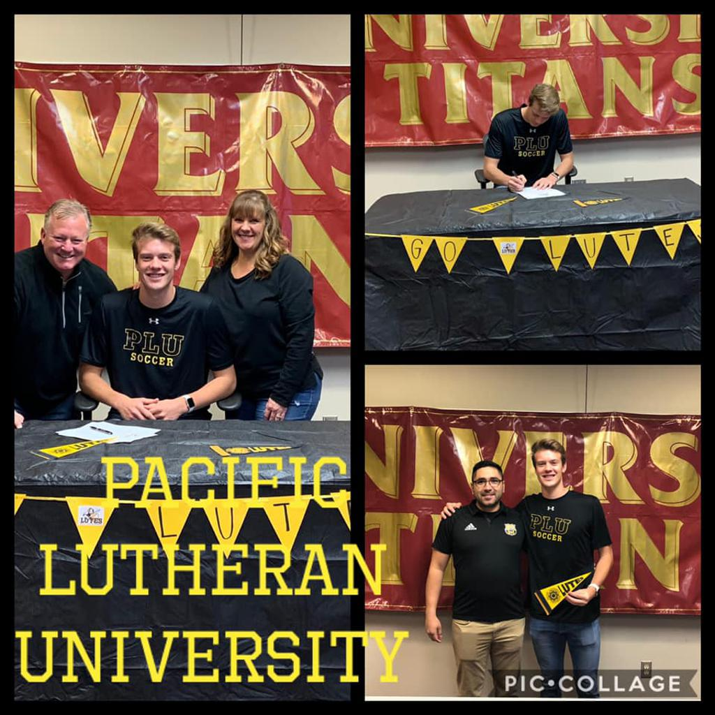 Cole Dobson Signs with Pacific Lutheran University