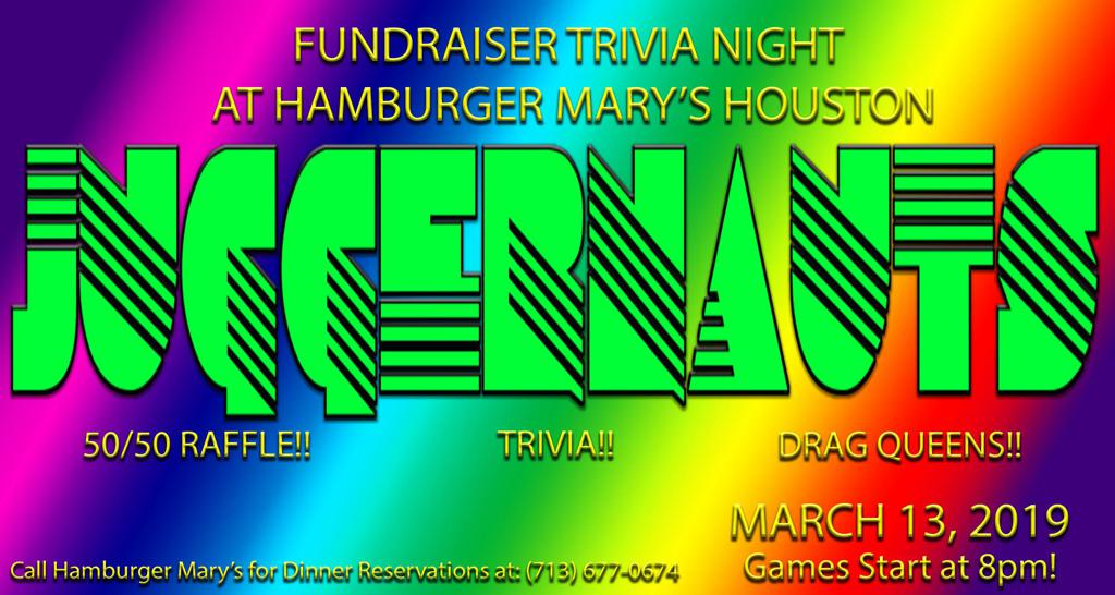 Trivia Fundraiser Night!!