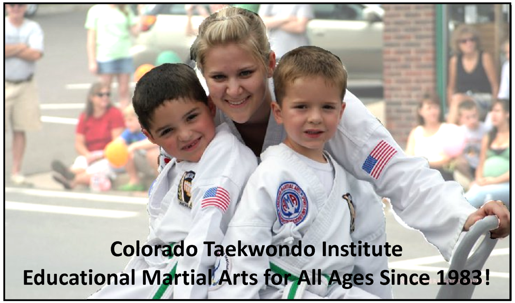 Taekwondo (Korean Karate) classes and lessons for children, teens and adults! Classes in Lakewood, Littleton, Westminster, Golden and Conifer Colorado.