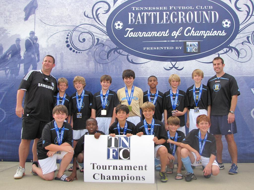 TNFC Battleground 2011 Champions