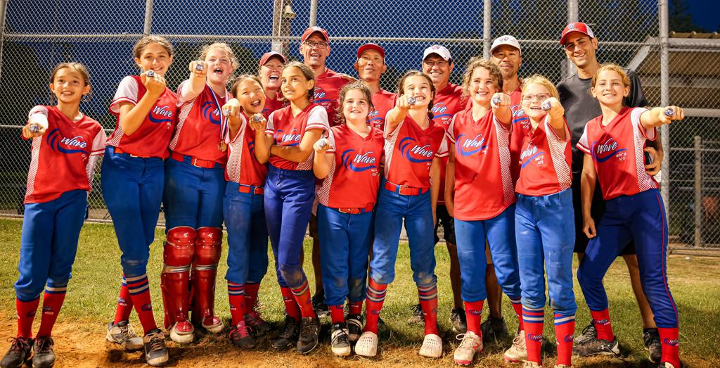 10U Wave wins 2nd place in the Alvin Memorial Day Softball Tournament on 5/30/21