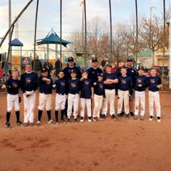 11U Elite Sluggers - Skinner go 4-0 on the weekend to win March Mayhem.
