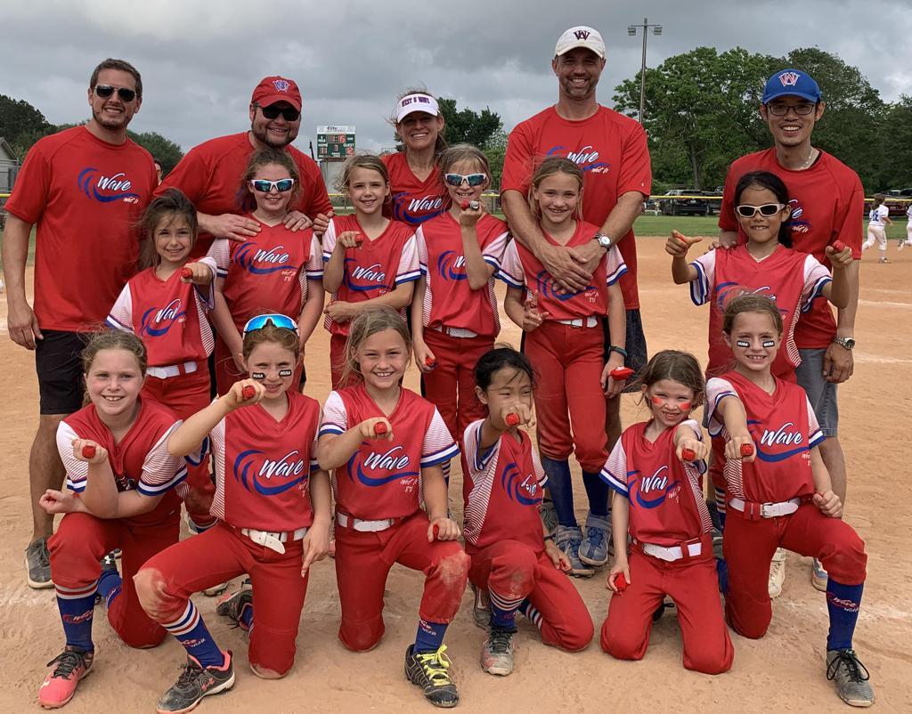 8U Wave wins the Sante Fe Angelique Ramirez Memorial Softball Tournament on 5/9/21