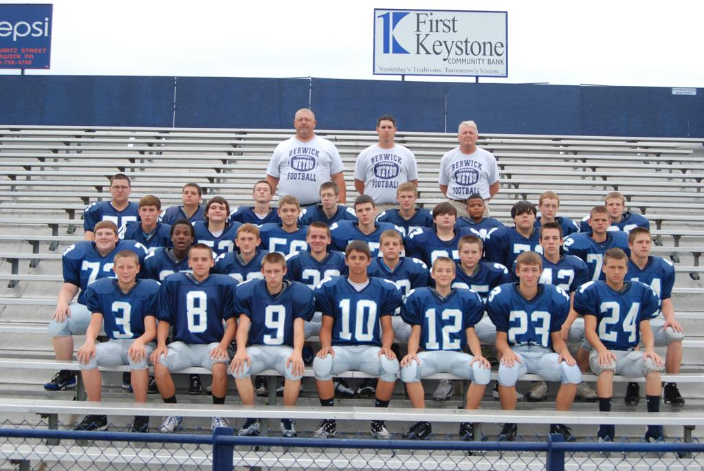 2012 BERWICK FRESHMAN FOOTBALL