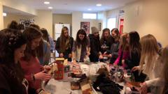 2021's Making care kits for the Frederick Rescue Mission