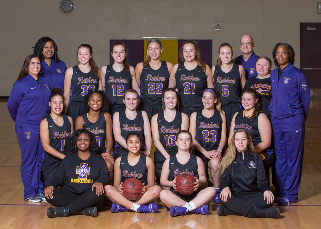 2018-19 Girls Varsity Basketball Team