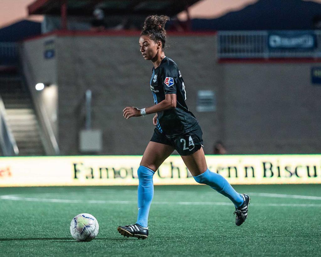 Estelle Johnson NJNY Gotham FC Cameroon Call Up