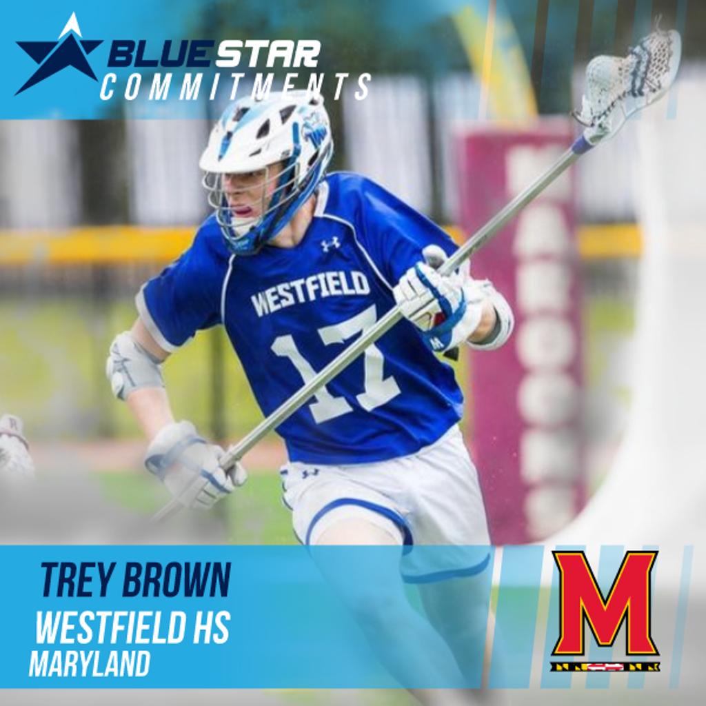 Trey Brown Blue Star Lacrosse Westfield High School University of Maryland