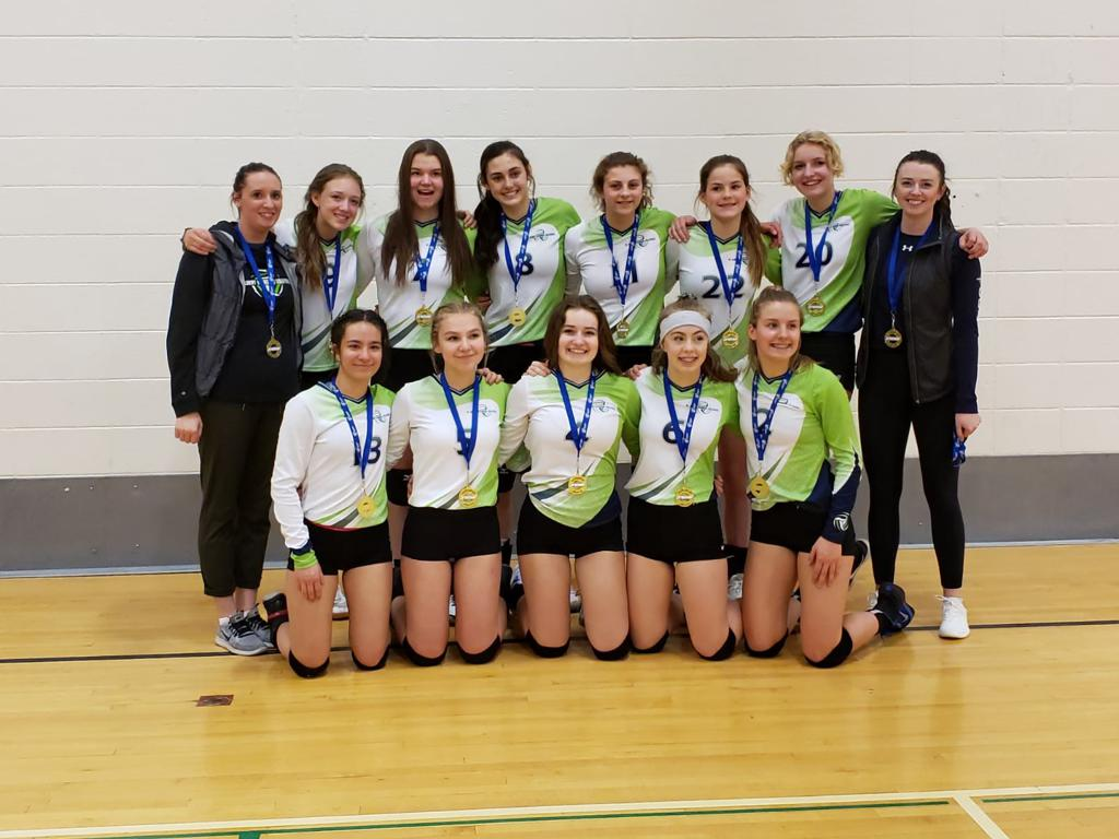 U15 Women Green Team - Premier 3 Div 2 Gold Medalists - Wow three premiers and three metal placements, you girls rock!