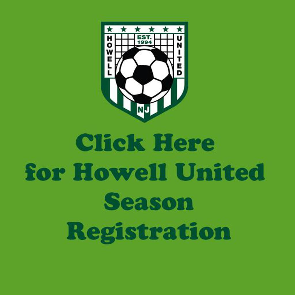 Howell United Season Registration