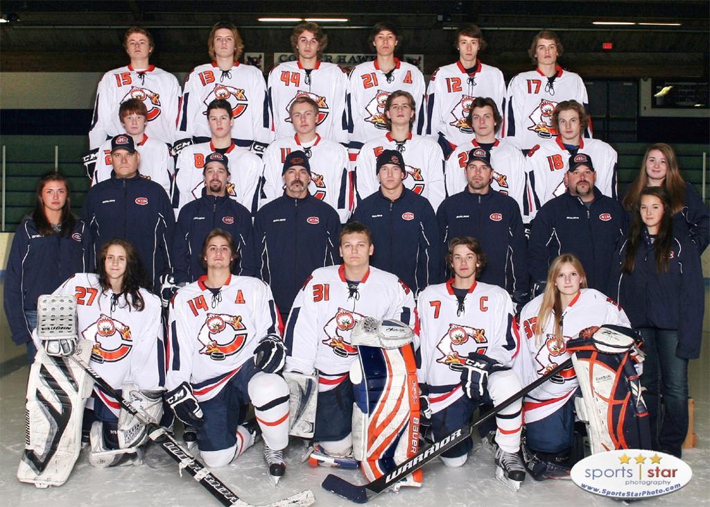 Cooper Hawks Hockey Team 2012-2013