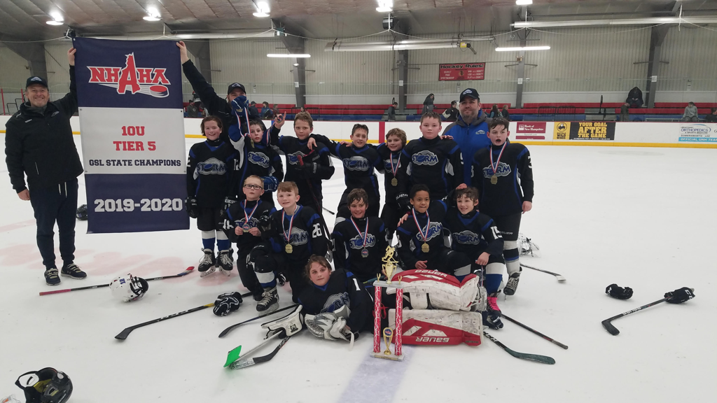 Storm Squirt 2 are New Hampshire Tier 5 State Champs