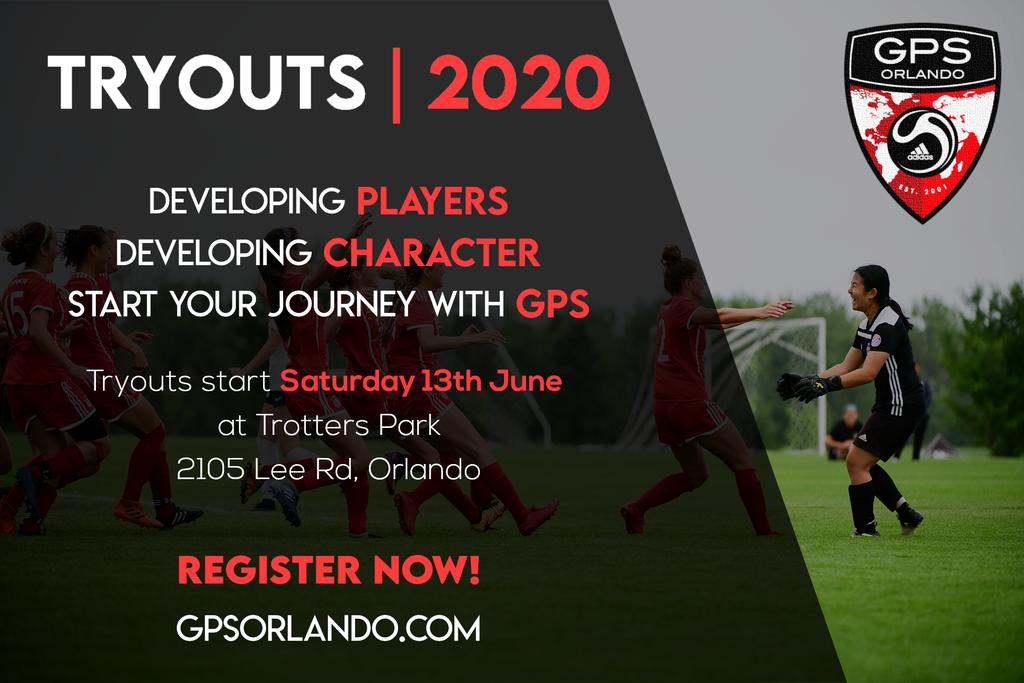 GPS Orlando 2020 Tryouts Competitive Orlando Youth Soccer Club | GPSorlando.com