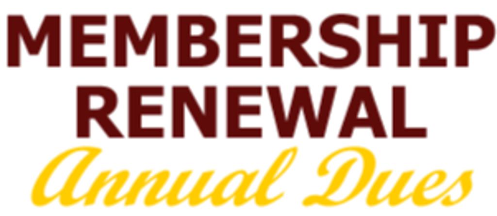 Membership Renewal and Payment