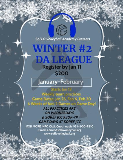 Winter #2 DA League