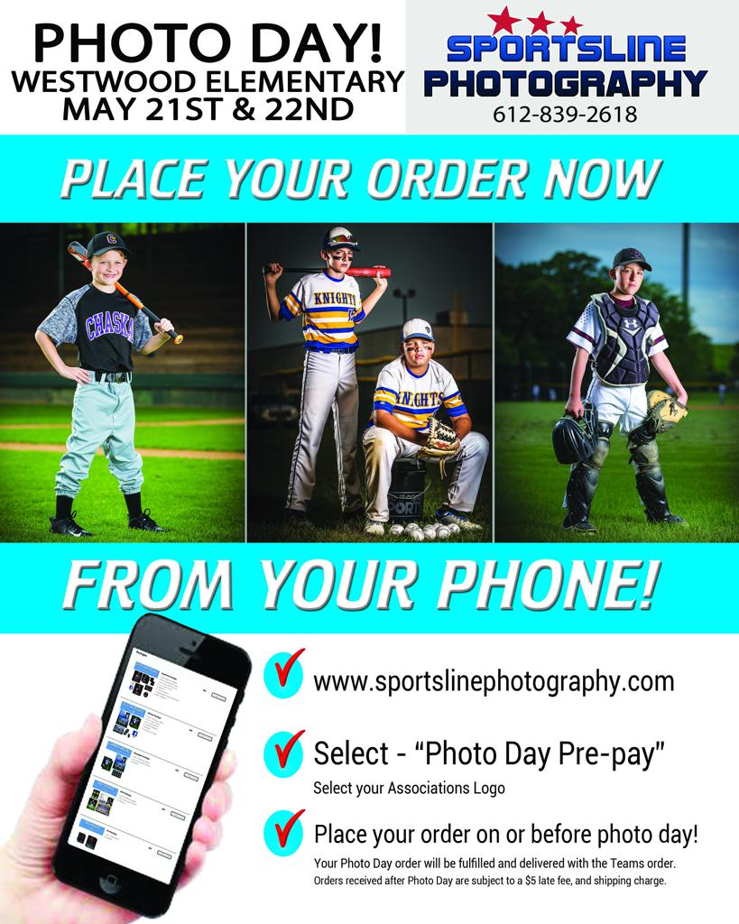Online Ordering for Team Pictures