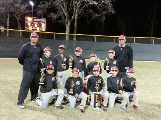 9u Stix Black Triple Crown Opener Champions