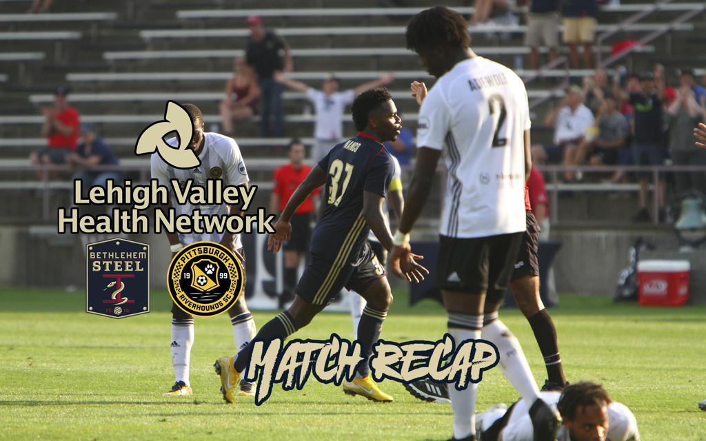 Bethlehem Steel FC Drops 2-1 Contest to Rival Pittsburgh