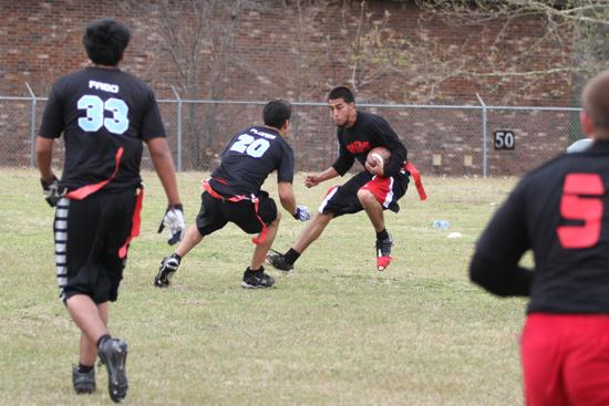 Texas adult flag football
