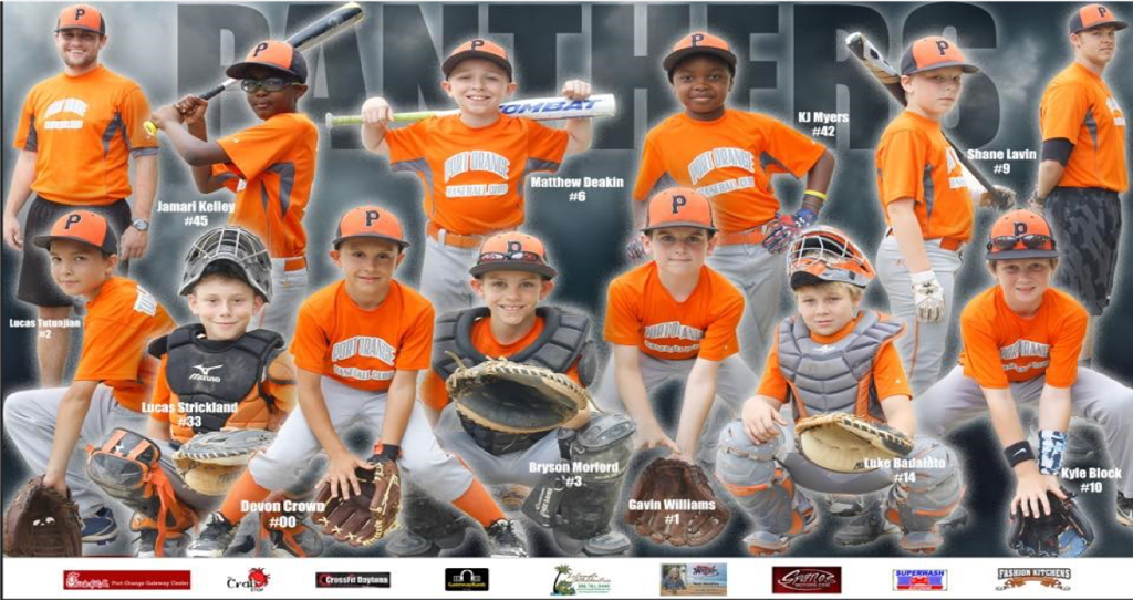 2018 Inaugural 12U Panthers Cooperstown Team