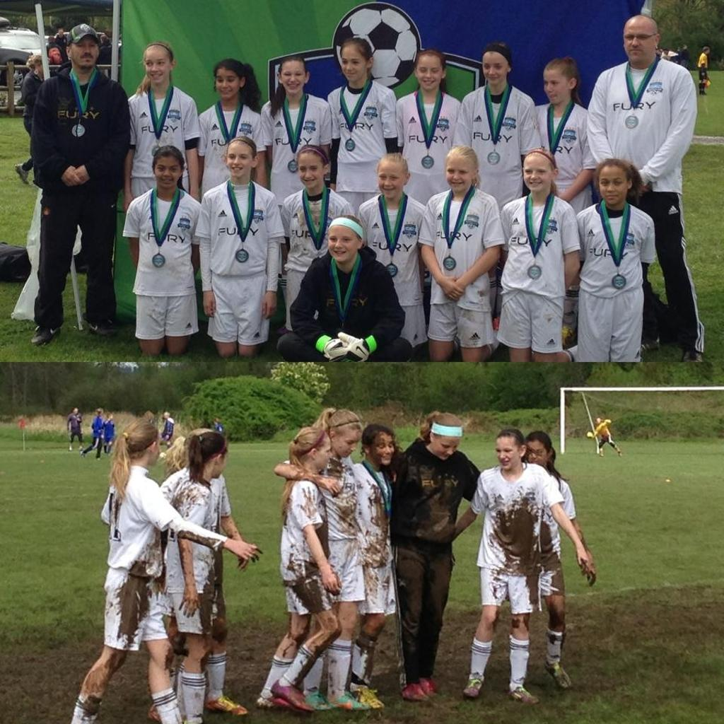Washington Cup Champions GU12 silver