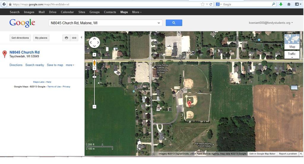 SPAC Google Maps