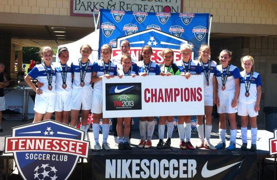 TSC 01 ELITE SOUTH - TNI CHAMPS! - 5-12-2013