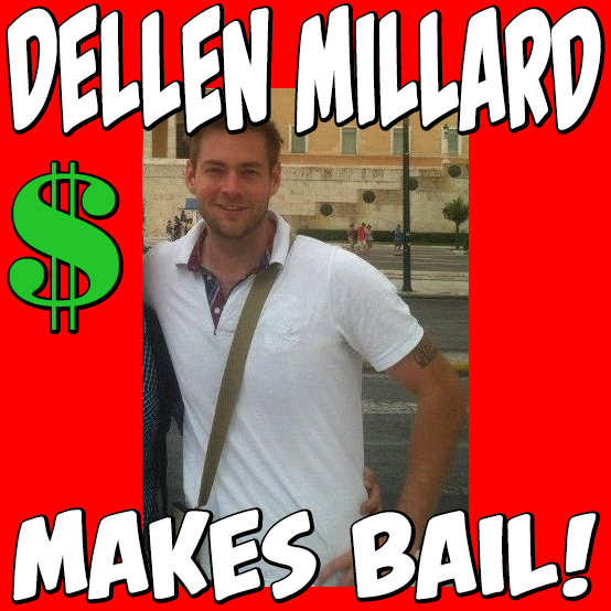 Dellen Millard makes bail in Hamilton.  In this image, you can see Dellen Millard's airplane hangar in Toronto.  This image was taken from the internet show 'Jamaican for Honkeys,' created by and starring Kevin Jackal Johnston and Trixx.  Thank you to Del