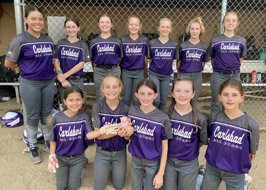 Congrats to Carlsbad 10U Gold — Top 6 Finish— 2021 North San Diego B District Tournament — Good Luck at State!