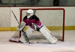 Olivia cronin goalie small