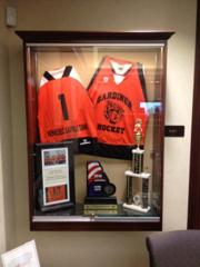 Kennebec Savings Bank Award Case - PeeWee State Champs