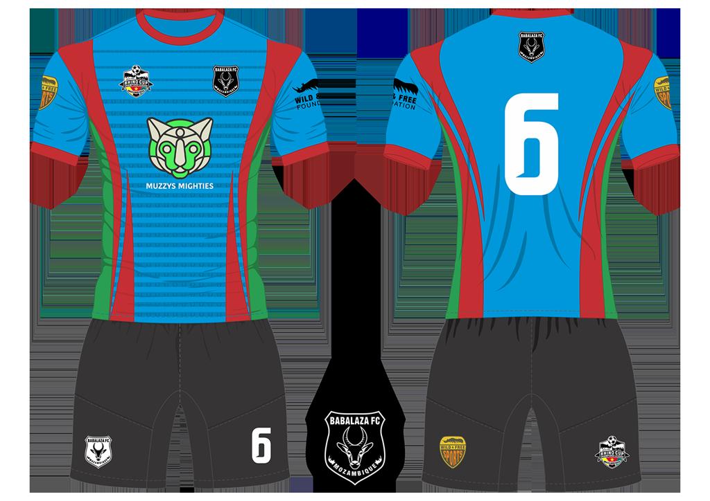 Babalaza FC Gazelles Soccer Team Kit RCCL 2019