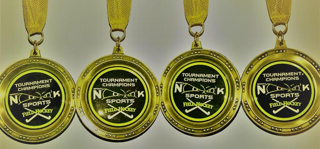 Tournament Championship Medals Earned in 2017/18 Season