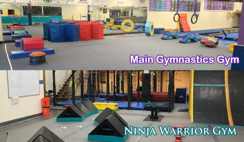 Birthday Parties are available in either our Gymnastics Gym or Ninja Warrior Gym! Both spaces offer their own Birthday Clubhouse, choose from one of our themes for a Deluxe Package and we will provide everything you need to have an awesome birthday party